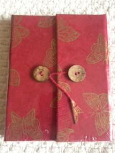 Notebook butterfly