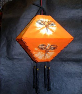 lampshade orange
