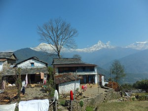 dhampus view