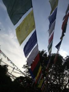 lumbini prayer flag